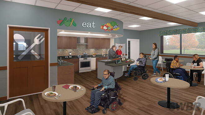 New culinary space at Lifetime Assistance
